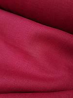 Льняная костюмная ткань винного цвета, фото 1