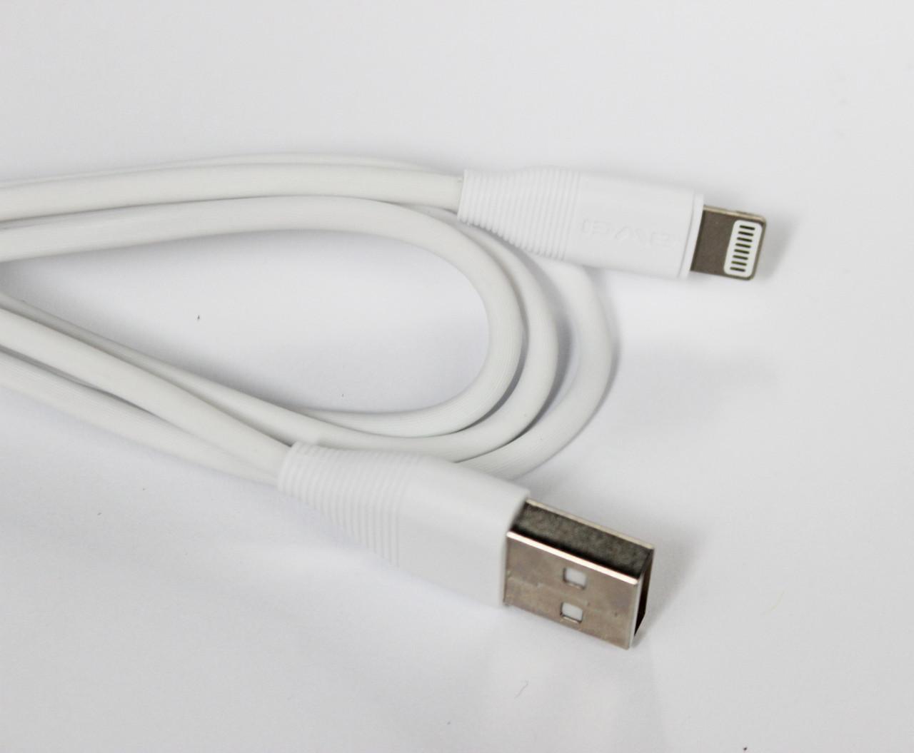 Кабель Awei CL-93 USB - Lightning 1 м White (77703202_1)
