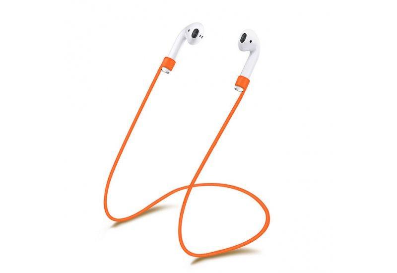 Ремешок Grand Anti Lost для Apple Airpods Оранжевый (AL1240)