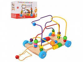 Деревянная игрушка Центр развивающий MD 1241 (1241-1)