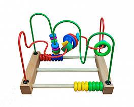 Деревянная игрушка Центр развивающий MD 1241 (1241-3)