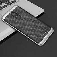 Чехол-накладка iPaky TPU+PC для Meizu M6 Grey