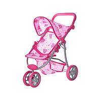 Коляска для кукол Melogo 9671 Розовый (int9671P)