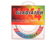 Шнур Gladiatormulti 0.18 13 kg. 5col. 100 м 4 жилки (234376)