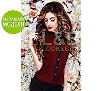 """Блузка """"Oxford"""" - распродажа модели #A/S"""