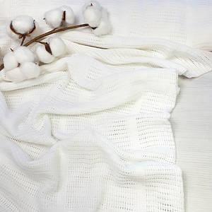 Филейная ткань (ширина 220 см) цвет белый