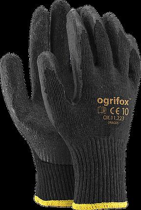 Перчатки OX-DRAGOS BB защитные проклеенные из трикотажа Reis Польша, фото 2