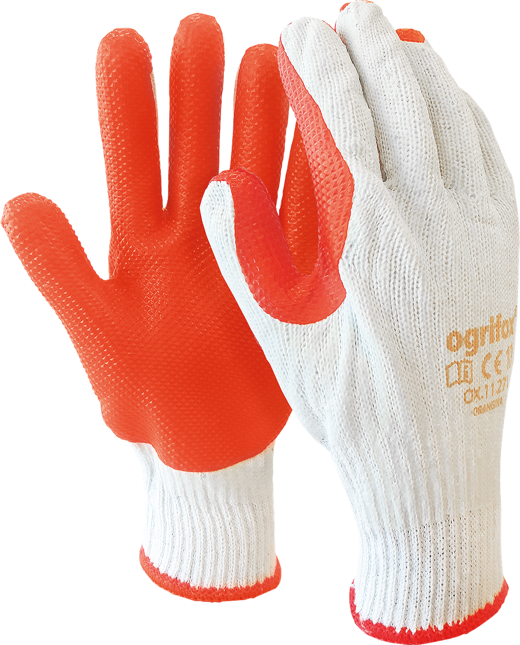 Перчатки рабочие для стекольщика и каменщика OX-ORANGINA WP  Reis Польша