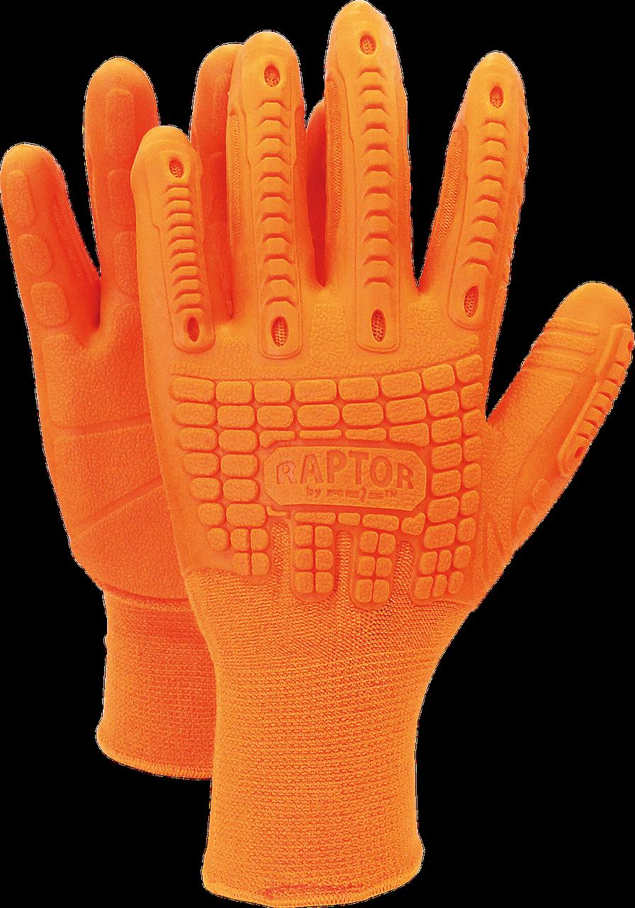 Перчатки защитные RAPTOR PP из хлопка и полиуретановых волокон Reis Польша