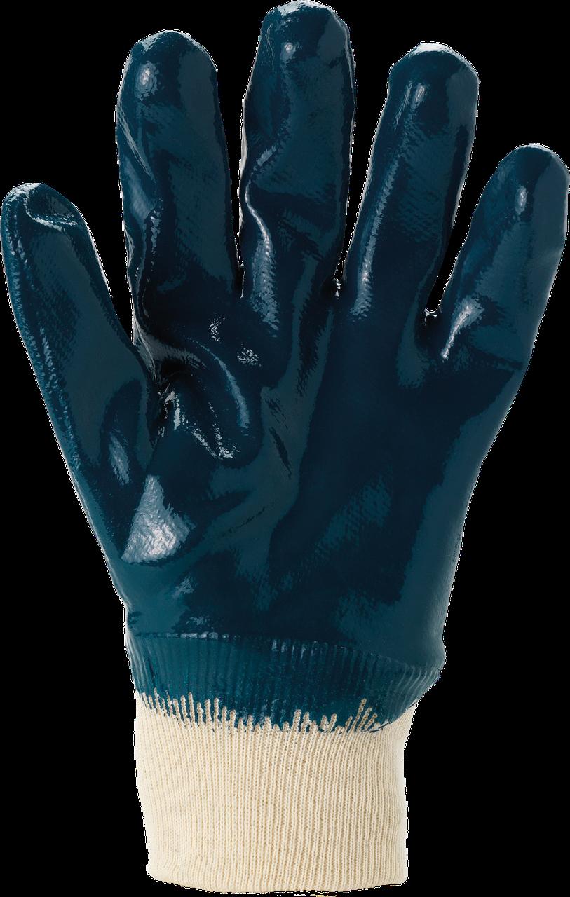 Защитные перчатки, RAHYCRON27-600 G маслостойкие, покрытые нитрилом. REIS Польша