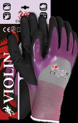 Защитные рукавицы,VIOLIN SVB выполненные из нейлона с примесью лайкры Reis Польша, фото 2