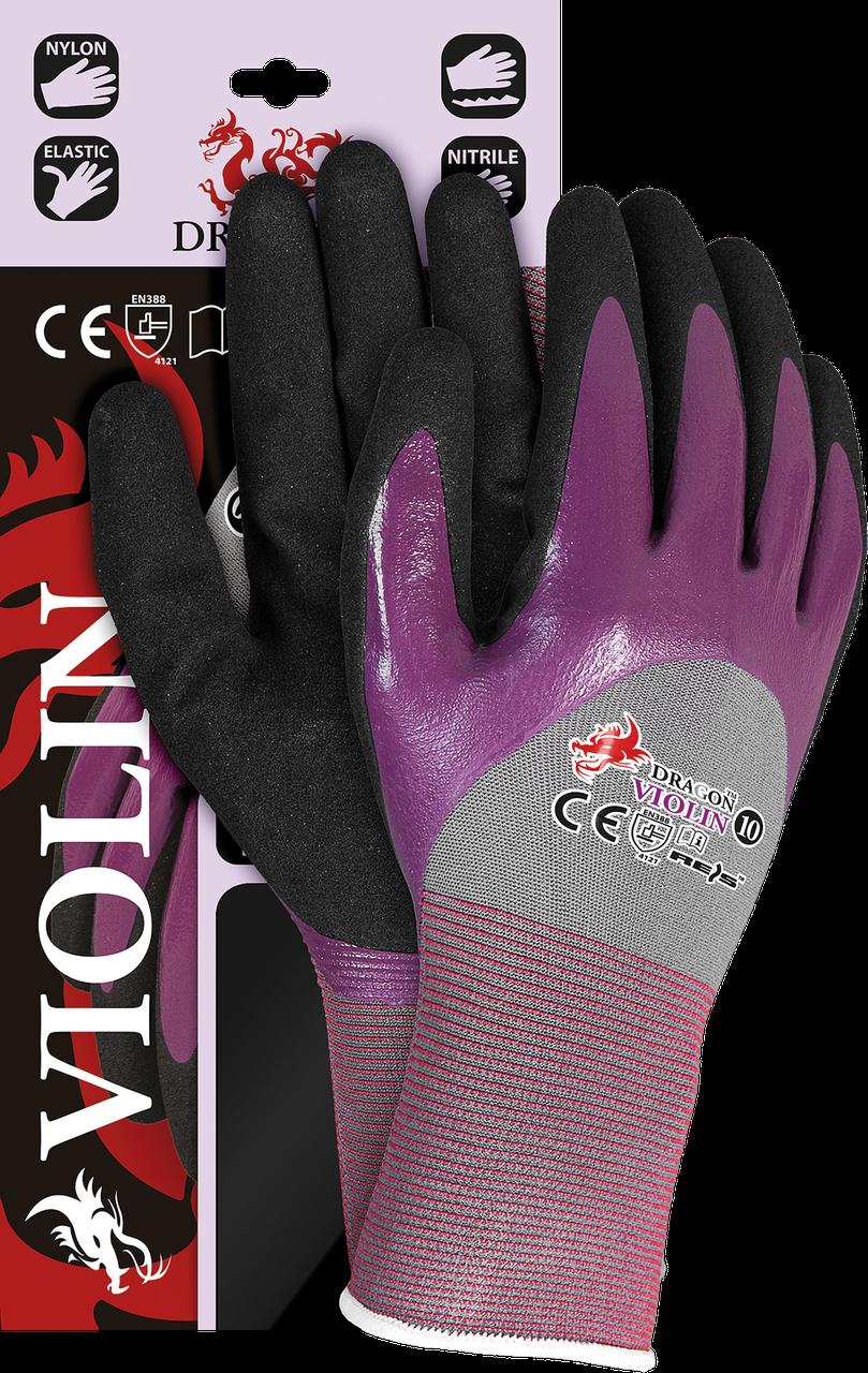 Защитные рукавицы,VIOLIN SVB выполненные из нейлона с примесью лайкры Reis Польша