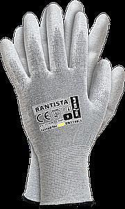 Перчатки  RANISTA BWW антистатические рабочие с полиуретановым покрытием Reis Польша Reis Польша