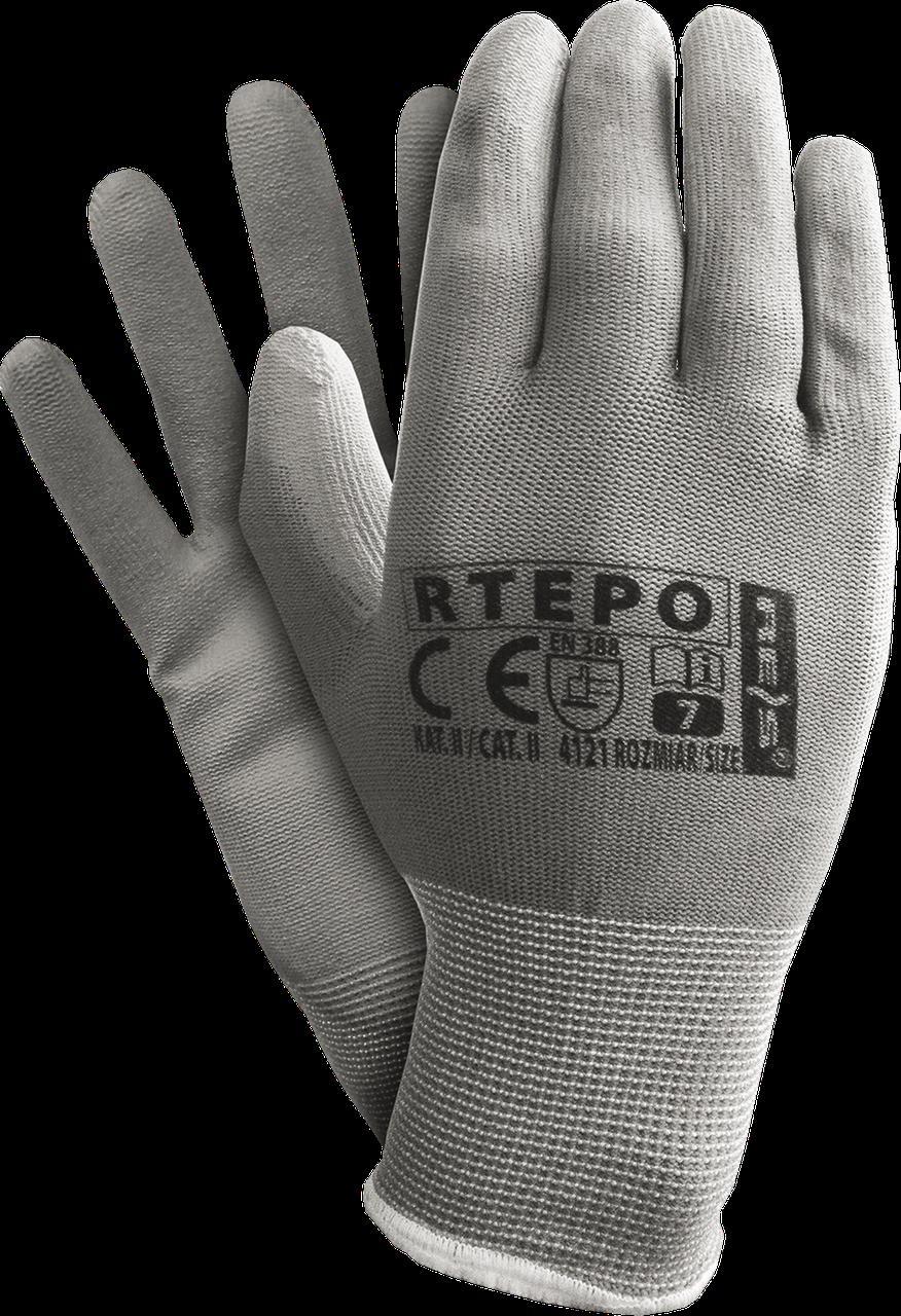 Защитные рукавицы RTEPO SS изготовленные из полиэстера, покрытые полиуретаном Reis Польша