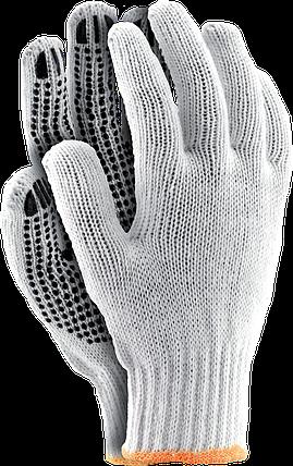 Перчатки RDZN WB защитные, сделанные из х/б с односторонним слоем ПВХ Reis Польша, фото 2