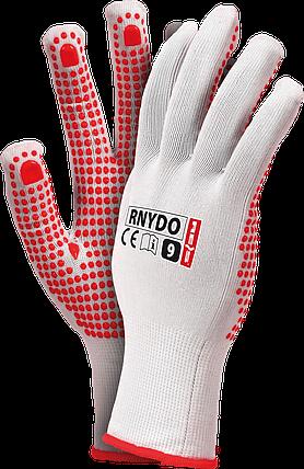 Защитные перчатки RNYDO WC из нейлона с точечным покрытием с одной стороны Reis Польша, фото 2