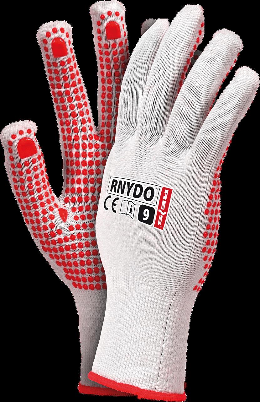 Защитные перчатки RNYDO WC из нейлона с точечным покрытием с одной стороны Reis Польша