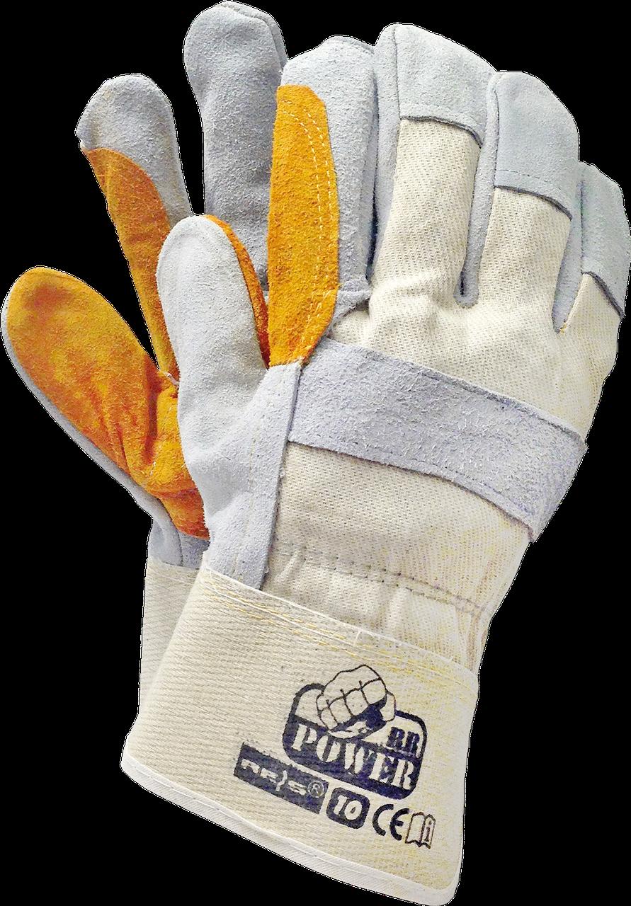 Перчатки защитные RBPOWER BEJSY кожаные рабочие Reis Польша
