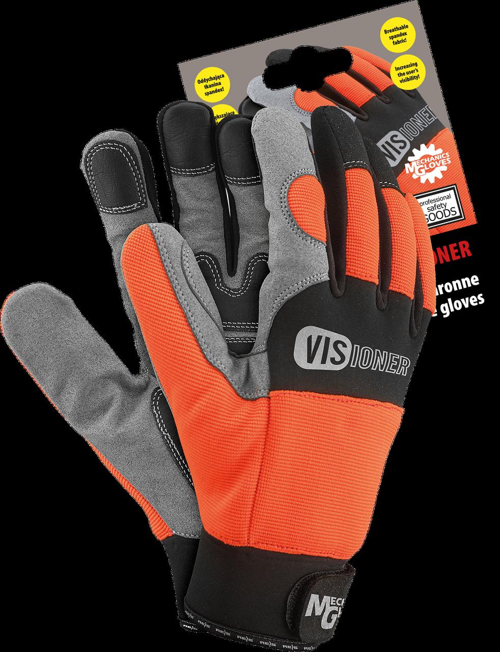 Велоперчатки RMC-VISIONER PBS Reis Польша(спортивные перчатки)