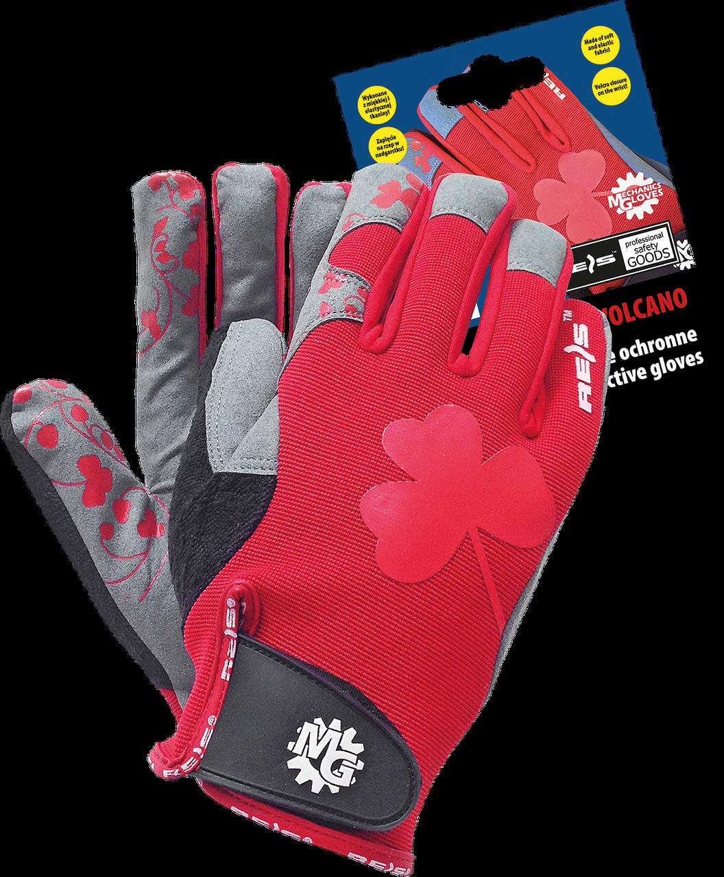 Перчатки RVOLCANO CSB спортивные женские Reis Польша