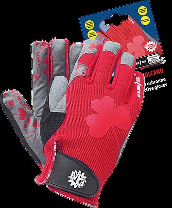 Перчатки RVOLCANO CSB спортивные женские Reis Польша, фото 2