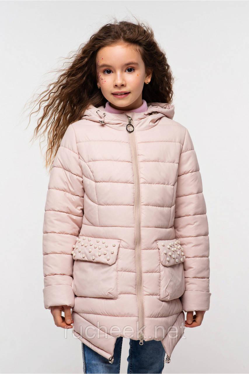 Куртка для девочки  Джейд, размеры 110-158, Тм Nui very