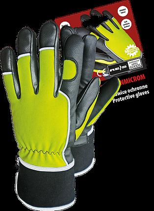 Защитные рукавицы RMC-WINMICROM YB утепленные, выполненные из высокого качества кожи , фото 2