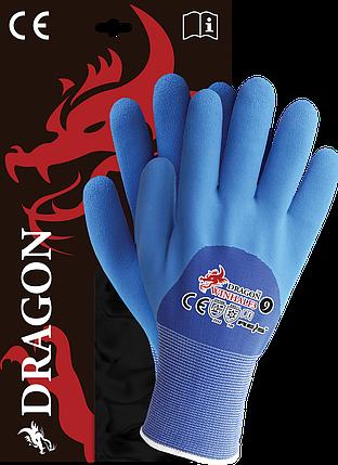 Перчатки WINHALF3 GN защитные утепленные, проклеенные , фото 2