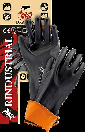 Защитные рукавицы, изготовленные из резины с продленной манжетой 45 cm RINDUSTRIAL BP, фото 2