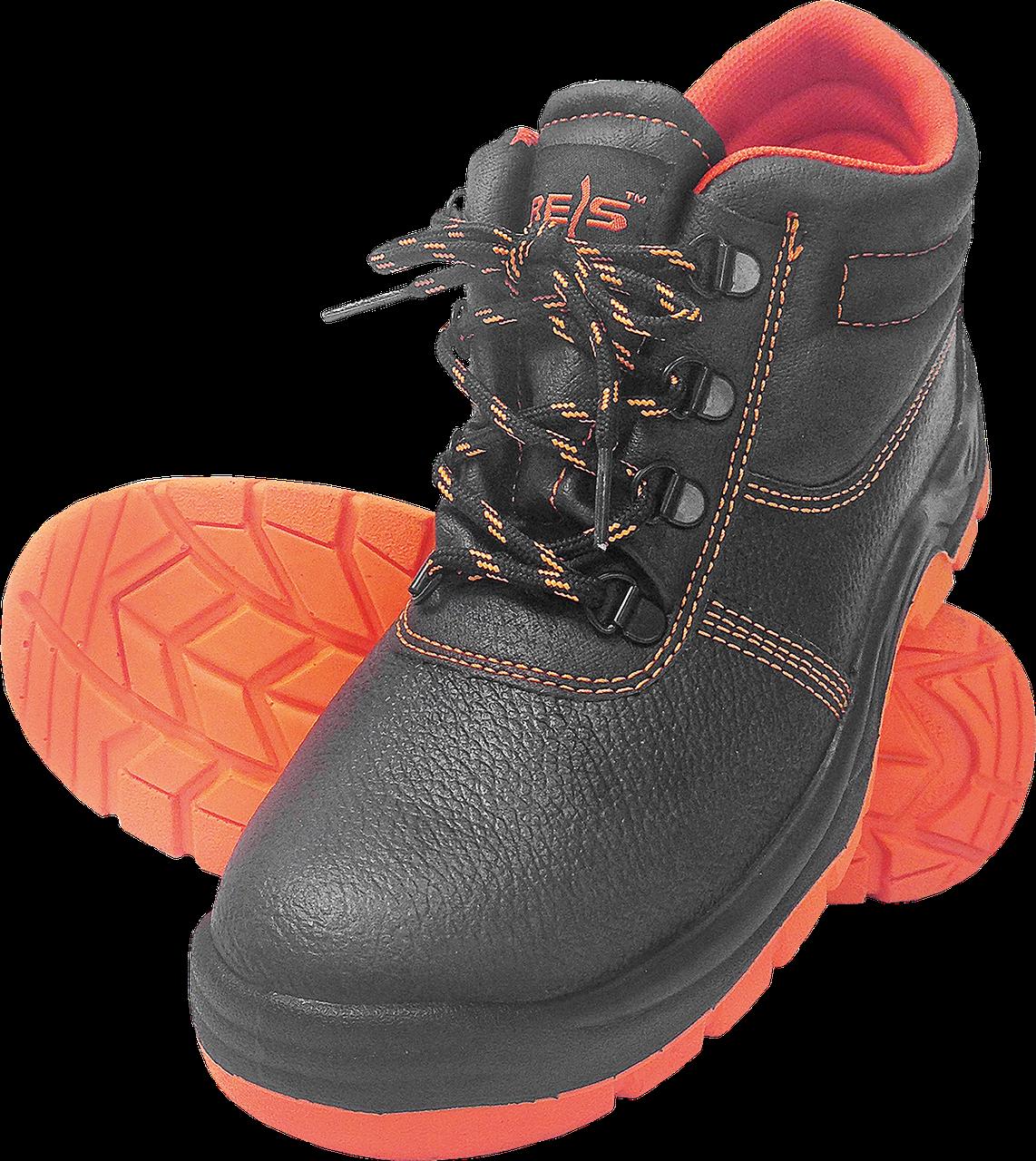 Рабочие ботинки BRYESK-T-SB BP c металлическим подноском REIS (RAW POL) Польша (спецобувь)