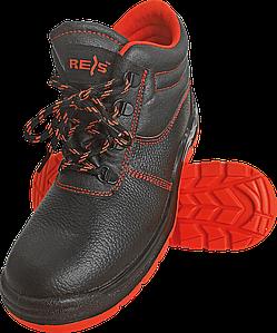 Рабочие ботинки BRYESK-T-SB BC c металлическим подноском REIS (RAW POL) Польша (спецобувь)