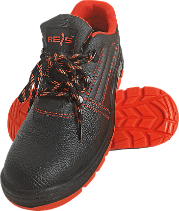 Полуботинки REIS BRYESK-P c металлическим носком 39 черные с красной подошвой(BRYESK-P), фото 2
