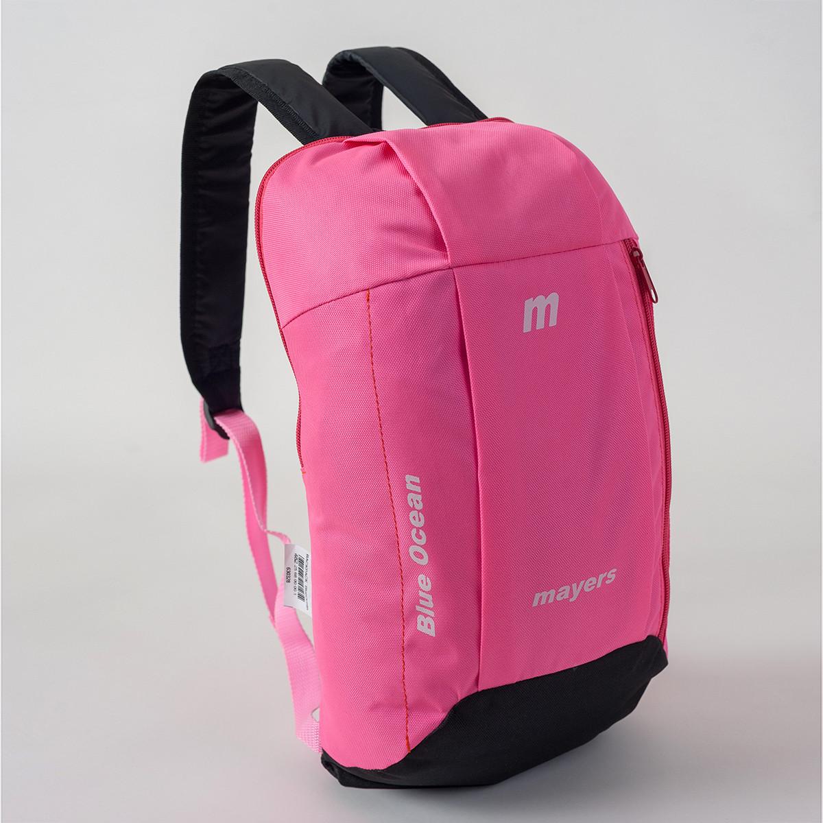 Спортивный рюкзак MAYERS 10L, светло-розовый + черный, фото 2