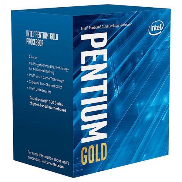 Процессор Intel Pentium Gold G5400 3.7GHz/8GT/s/4MB (BX80684G5400) s1151 BOX