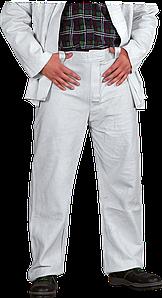 Кожаные спилковый брюки SSB JS для сварочных работ REIS