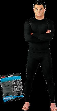 Белье US-TERM B термоактивное черное Reis Польша , фото 2