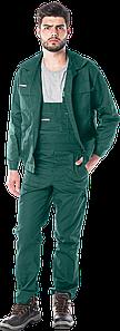 Костюм UM Z рабочий зеленый REIS Польша RAWPOL (комплект полукомбинезон и куртка рабочая)