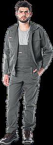 Костюм UM Z рабочий серый RAWPOL REIS Польша (комплект роба полукомбинезон и куртка рабочая)