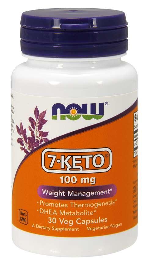 NOW 7-KETO 100 mg 30 veg caps