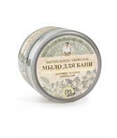 Мыло черное для бани Травы и сборы Агафьи, 500мл #B/E