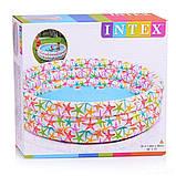 ✅Детский надувной бассейн Intex 56440 «Звездочка», 168 х 38 см, фото 3