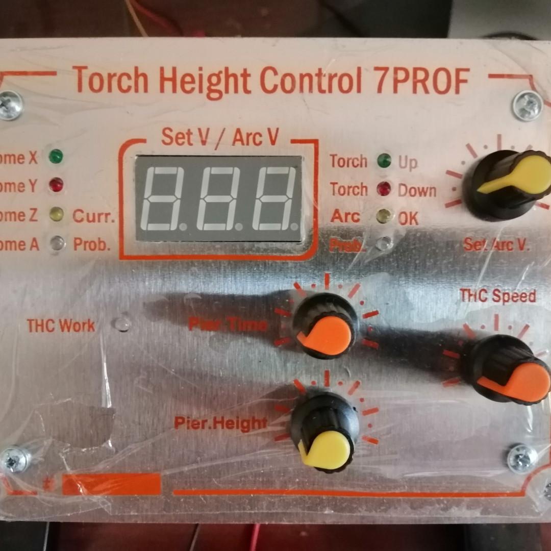 THC7Prof Контроль Висоти плазми для ЧПУ верстатів Плазмової резки