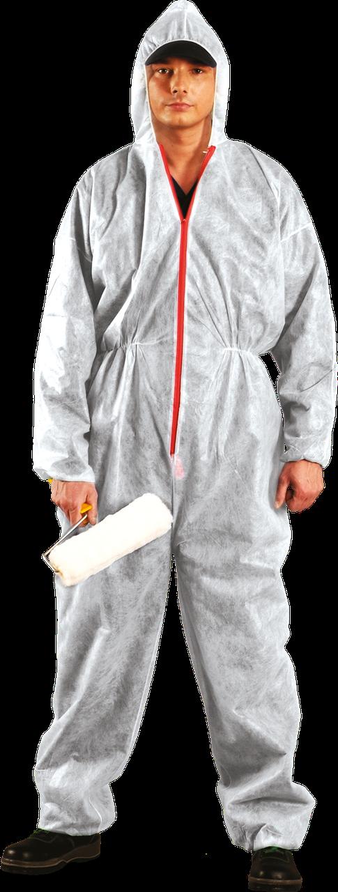 Комбинезон KOM W защитный малярный белый REIS (RAW-POL) Польша