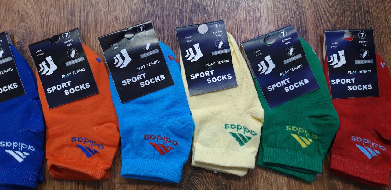 """Детские стрейчевые носки в стиле""""Adidas ss"""" для девочек"""