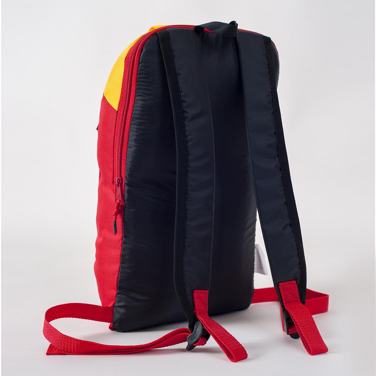 Спортивный рюкзак MAYERS 10L, красный + желтый, фото 3