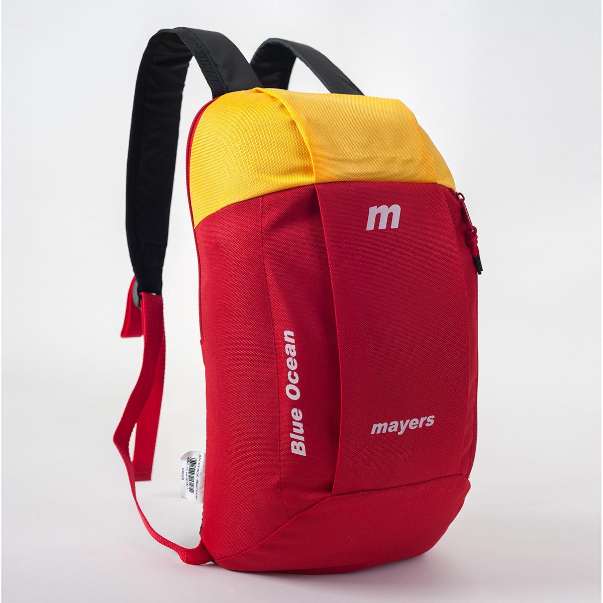 Спортивный рюкзак MAYERS 10L, красный + желтый, фото 2