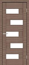 Двери Омис Домино ПО. Полотно, ПВХ, секло сатин, фото 3