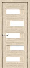 Двери Омис Домино ПО. Полотно, ПВХ, секло сатин, фото 2