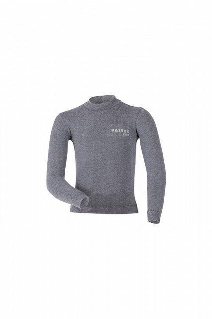 Детская термокофта Haster Merino Wool 128/134 Серая