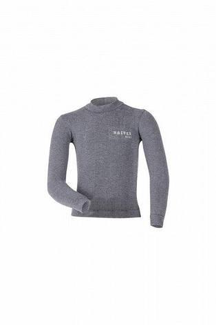 Детская термокофта Haster Merino Wool 104/110 Серая, фото 2